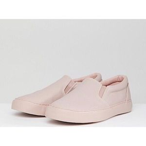 ASOS | Mens size 9 Slip On Pink Sneakers
